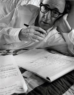 Woody Allen, New York, NY, 1996 by Arnold Newman
