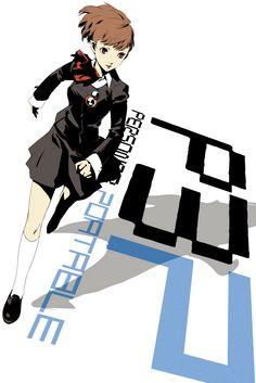Artwork from Soejima Shigenori Arts Book Persona 3 Portable, Anime Toon, Anime Art, Shin Megami Tensei Persona, New Cinema, Female Protagonist, Persona 5, Character Art, Book Art