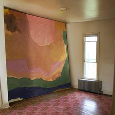 Helen Frankenthaler, too big to fit