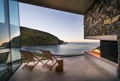 This super secluded seaside home was built where the world won't find you