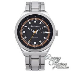 Ben Sherman - Mens Stainless Steel Analogue Display Watch - BS020  RRP: £55.00 Online price: £44.00 You Save: £11.00 (20%)  www.lingraywatches.co.uk