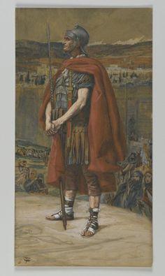 James Tissot (French, 1836-1902). The Centurion (Le Centurion), 1886-1894.