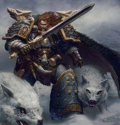 Warhammer - Leman Russ (my future child)