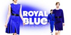 Royal Blue - der elegante Farbtrend und die schönsten Kleider: http://www.fashionhype.com/kategorie/kleider/farbe/blau.html