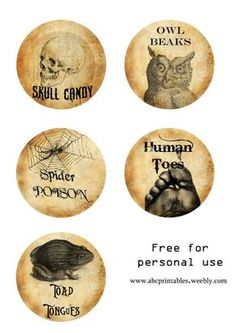 not for human consumption halloween tag | Halloween Bottle Labels - Free Printable Potion Bottle Labels
