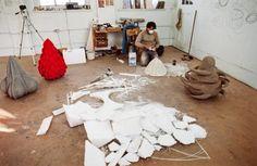 Kapoor's studio