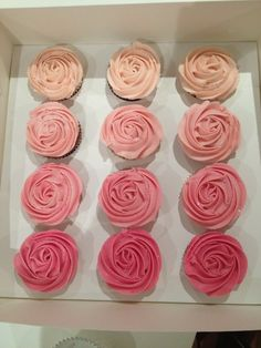 rose cupcake by oh my sweets