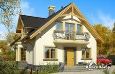 Juliusz III - Dobre Domy Flak & Abramowicz Micro House, Design Case, Home Fashion, Cabin, Mansions, Landscape, House Styles, Home Decor, Chalets