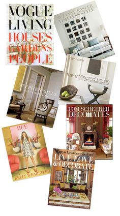 Must Have Interior Design Books
