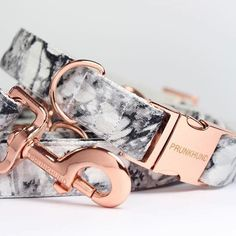 #Repost @dogmilk  ・・・  We're obsessed with @prunkhund's newest release of colors, especially this Marble and Rose Gold combo!  See more on the blog: dogmilk.com