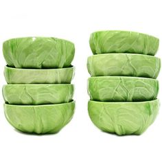 Lettuce Bowls Set Of 8, $99, now featured on Fab.