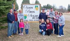 Olson Bro's Sugar Bush makes wonderful maple syrup from the maple trees in Menominee, Mi