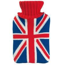 union jack toilet seat. Union Jack Hot Water Bottle Keep warm with this delightful hot water bottle  a fun union jack design It comes cosy knitted acrylic cover toilet seat England Love Housewares Dishes
