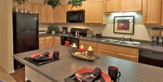 The Pavilion on Berry Apartments--> Check out our floor plans and AWESOME Amenities!