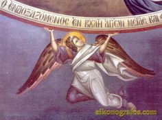 Byzantine Icons, Archangel, Murals, Princess Zelda, Projects, Painting, Fictional Characters, Fresco, Log Projects
