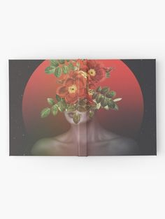 """""""She Blooms"""" Hardcover Journal by ind3finite 