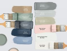 Sherwin Williams Paint Colors Sherwin Williams Paint Color Latte SW 6108 by Sherwin Williams, Halcyon Green SW 5213 by Sherwin Williams, Outerspace SW 6251 by Sherwin Williams, Naval SW 6244 by Sherwin Williams, Leisure Blue SW 6515 by Sherwin Williams, Software SW 7074 by Sherwin Williams, Online SW 7072 by Sherwin Williams, Svelte Sage SW 6164 by Sherwin Williams, Rosy Outdlook SW 6316 by Sherwin Williams, Ceiling Bright White SW 7007 by Sherwin Williams, Extra White SW 7006 by Sherwin…