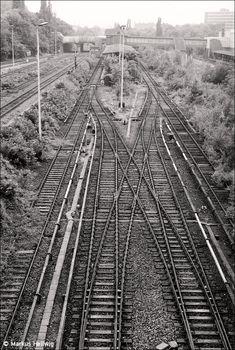 S-Bahnhof Berlin-Gesundbrunnen 1985