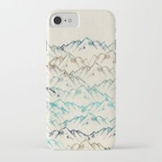 Mountains Slim Case iPhone 7