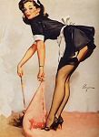 Gil Elvgren - My type of cleaning