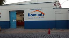 Pintura na fachada de empresa - Domicili