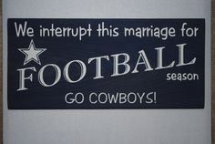 @Natalie Heckman should make this for Garrett's Xmas gift, except for the Saints of course, instead if the cowboys.