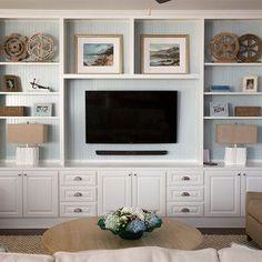 14 pomysłów na umieszczenie telewizora w salonie