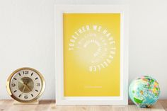 Yep.  Christmas here I come!   Unique personalized journey giclee print. Record your 'Miles around the sun' together.