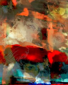 Kara Boulden - Abstract I - Digital Art - Color is everything.