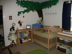 I loved this book, The Giving Tree, by Shel Silverstien - another idea for a boys room