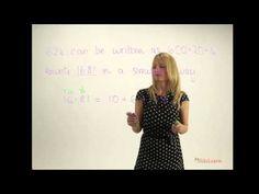Breaking down decimal numbers - YouTube