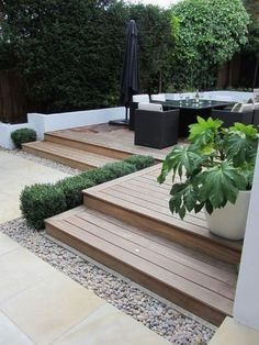 Top 60 Best Backyard Deck Ideas Wood And Composite Decking Designs is part of Patio deck designs - Discover where luxury and leisure meet with the top 60 best backyard deck ideas Explore unique wood and composite decking designs and layouts Veranda Design, Terrasse Design, Front Yard Landscaping, Backyard Patio, Backyard Ideas, Landscaping Ideas, Garden Ideas With Decking, Decking Ideas On A Budget, Paving Ideas