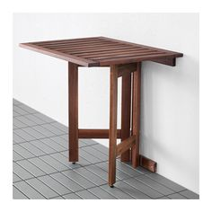 ÄPPLARÖ Gateleg table for wall, outdoor  - IKEA