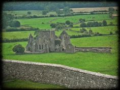 Abbey at the Rock of Cashel