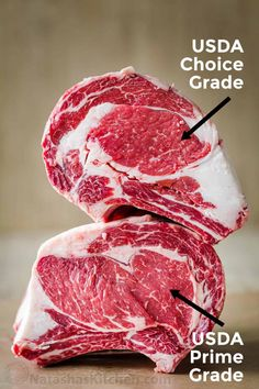 Everything you need to know to purchase the perfect Prime Rib Roast, from beef quality grades, bone-in vs boneless, and how big of a roast you need. Pot Roast Brisket, Beef Tenderloin Roast, Pork Roast, Beef Steak, Rib Roast Recipe, Prime Rib Recipe, Beef Cuts Chart, Perfect Prime Rib, Roast Chicken And Gravy