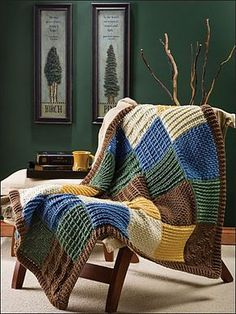 Ravelry: Post Stitch Patchwork pattern by Marty Miller.