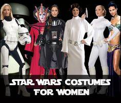 Love these Star War Costumes for women  http://halloweenideasforwomen.com/star-wars-costumes-for-women/