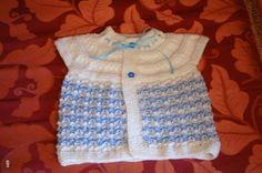 Hand Knitted Baby Vest Baby girl sweater Baby by neslyhandmade