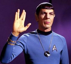 Leonard Nimoy (March 26, 1931 - February 27, 2015). Mr. Spock.
