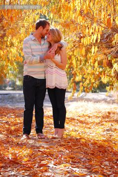 Nikki & Chad Engagement « Ashley Beaudin Photography & Design #engagement #fall #autumn #couple #love