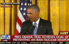 "Barack Obama: ""99% of World Community"" Agrees With Me on Iranian Nuclear Deal (VIDEO)"