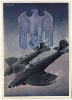 Hoffmann Kl.9 Gottfried Klein Die Wehrmacht Series Luftwaffe Fighters propaganda PC.