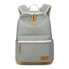 XQXA Ethnic Women Backpack for School Teenagers Girls Vintage Stylish Ladies Bag Backpack Female Dotted Printing High Quality Cute Backpacks, Girl Backpacks, School Backpacks, Canvas Backpacks, Satchel Backpack, Laptop Backpack, Leather Backpack, Little Girl Backpack, Backpack For Teens