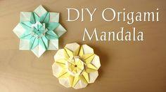 DIY Origami Mandala
