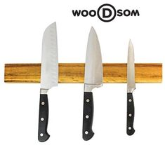 Display your cutlery with confidence - wooDsom powerful magnetic knife holders crafted in the USA from Historic recovered lumber. Magnetic Knife Holder, Magnetic Knife Strip, Wood Species, Knife Block, Hardwood, Scrap, The Originals, Natural Wood, Hardwood Floor