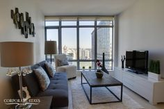 Our Pacific Apartment in the West End of Vancouver has stunning views, lux decor, and beautiful furnishings Stunning View, Beautiful, Furnished Apartment, West End, Vancouver, Windows, Furniture, Apartments, Home Decor
