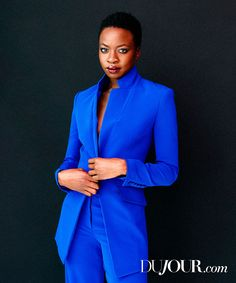Danai Jekesai Gurira (born February 14, 1978) is an American actress and playwright of Zimbabwean ancestry, best known for her role as Michonne on The Walking Dead, an AMC television horror drama series, and as the writer of the Tony Award-winning play Eclipsed.