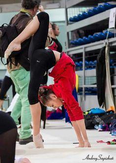 Alexandra Soldatova - Rhythmic Gymnastics Training
