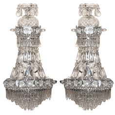 1stdibs - Pair Crystal and Glass Sconces explore items from 1,700  global dealers at 1stdibs.com