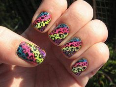 Colorful Leopard Style